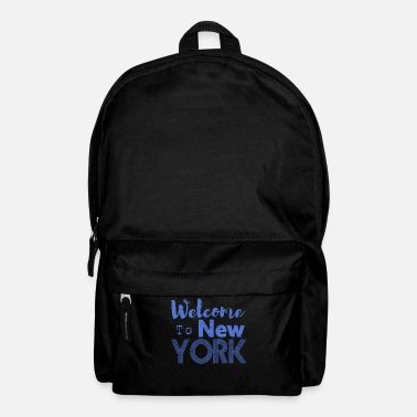 Hip Welcome to New York Vintage - Rucksack