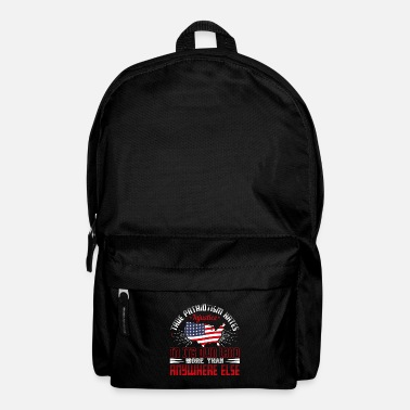 Democracy Patriot-True Patriotism hates injustice - Backpack