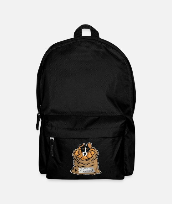 Easter Bags & Backpacks - Dog potato - Backpack black