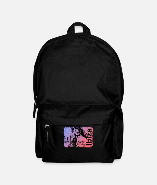 Beach Bags & Backpacks - Ibiza dance - Backpack black