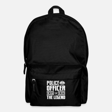 Official Person Police officer police - Backpack