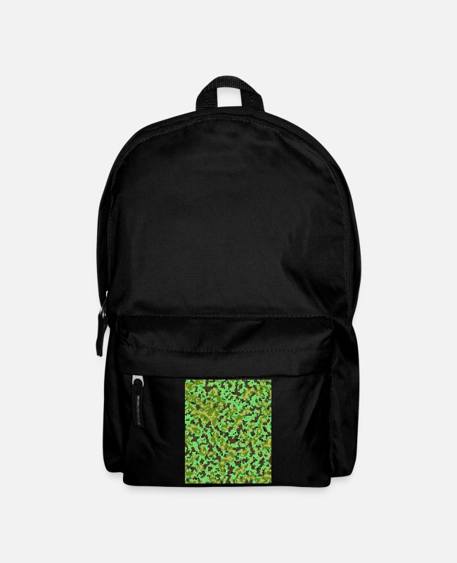 Pattern Bags & Backpacks - Crazy Unique Camo Pattern - Backpack black