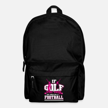 Sports Golf - If it were easy, it would be soccer - Backpack