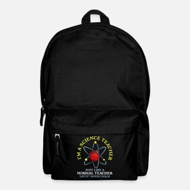 Education Culture Science teacher chemistry physics - Backpack