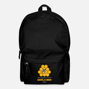 Hum Happy Bees Day Gift for Honeycombs & Beekeepers - Backpack