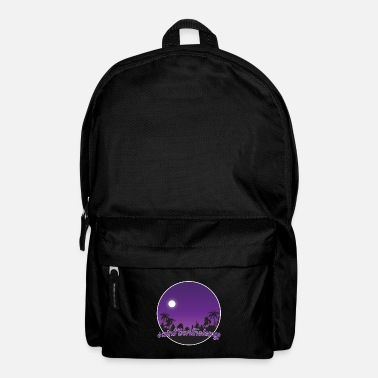 St. Barthelemy's purple paradise - Backpack
