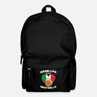 Italy Italy saying heart Italian gift - Backpack