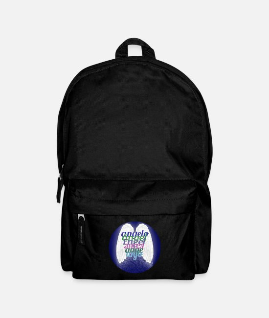 Angelwings Bags & Backpacks - Angel (some languages) - Backpack black