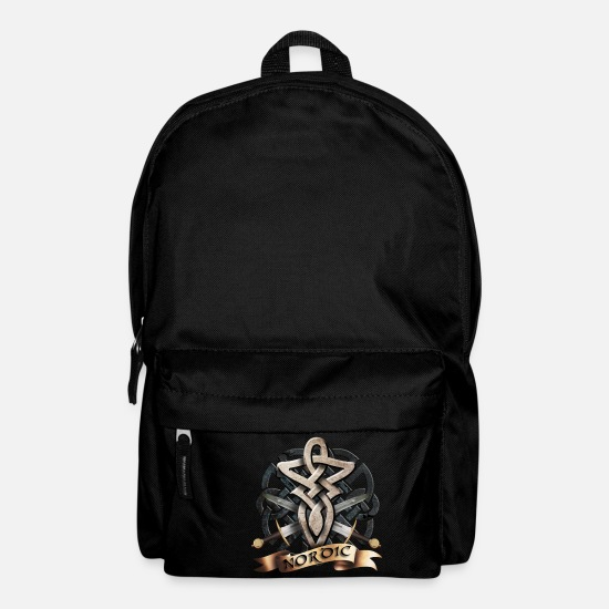 Hammer Bags & Backpacks - tribal_knot_viking_b - Backpack black