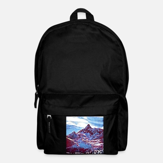 Red Bags & Backpacks - Red Mountain - Backpack black