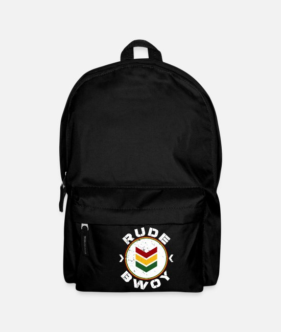 Rastafari Bags & Backpacks - Rude Bwoy - Backpack black