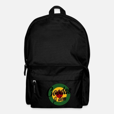 Singjay Goodas fi dem - Backpack