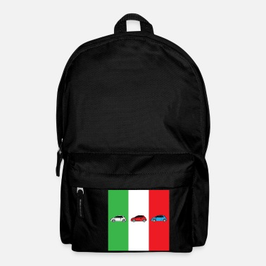 Italian Car Italian Flag - Backpack