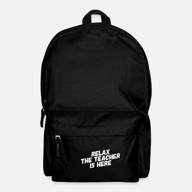 Teachers Teacher shirt for teachers and teachers - Backpack