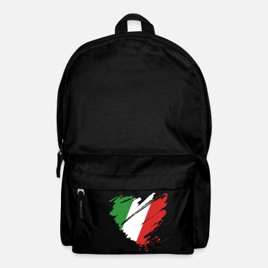 Cuore Heart Cuore Italy Italy Football - Backpack