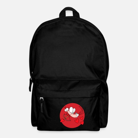 Love Bags & Backpacks - Djen Wana Valentines cupid - Backpack black