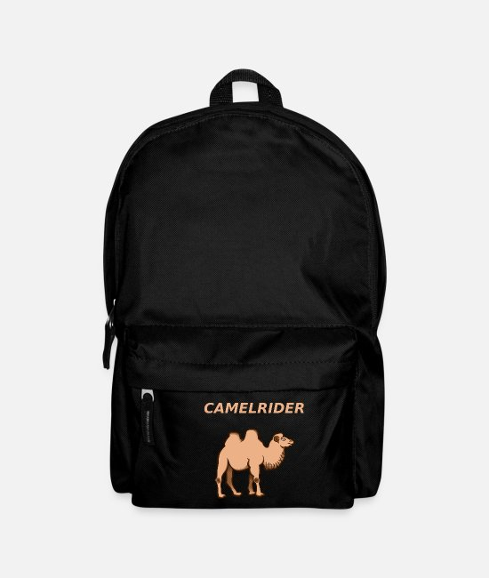 Morocco Bags & Backpacks - Camel - Camels - Gift - Backpack black