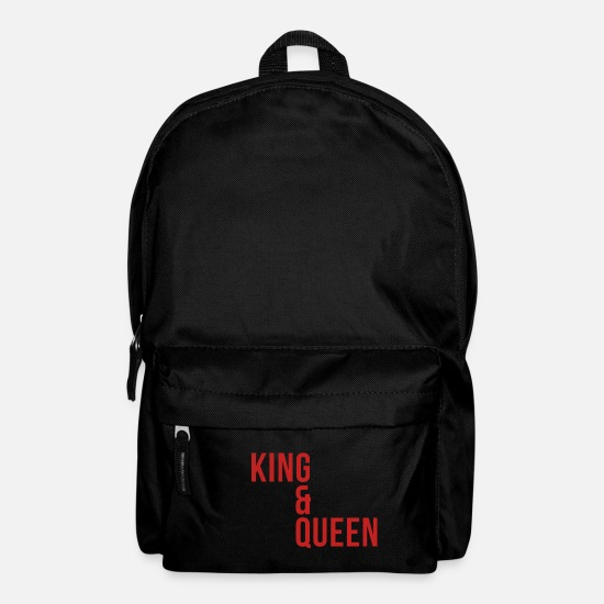 Girlfriend Bags & Backpacks - King & Queen - Backpack black