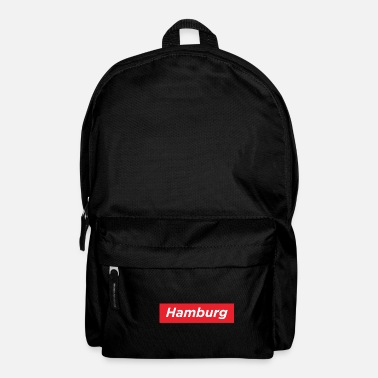 Hamburg City Design Streetwear - Rucksack