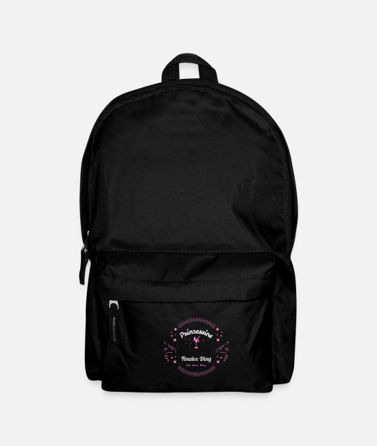 Engagement Bags & Backpacks - Princess bachelorette party - Backpack black