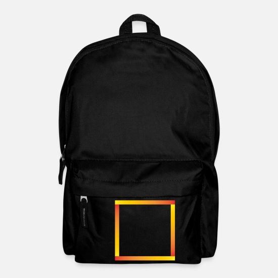 Symbol  Bags & Backpacks - Square square with gradient shape - Backpack black