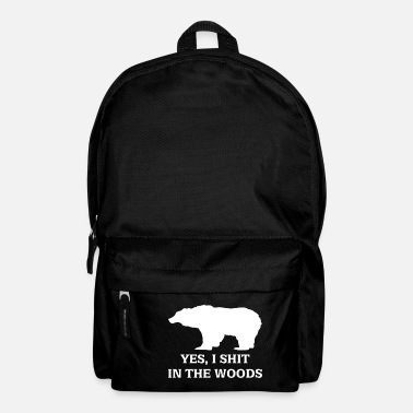 bear shit in the woods - Backpack