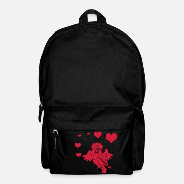 Cupido Cupid with Hearts Bow and Arrow - Rucksack