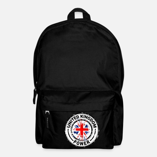 Flag Bags & Backpacks - united kingdom power - Backpack black