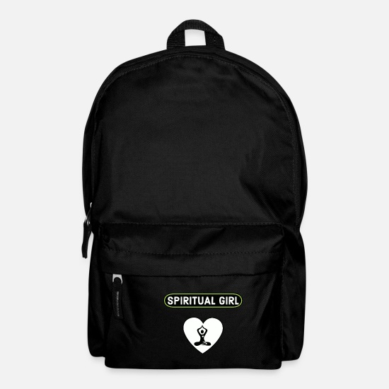 Reiki Bags & Backpacks - spiritual girl - Backpack black
