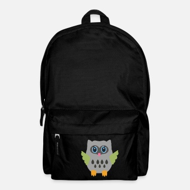Grey Grey Owl - Backpack