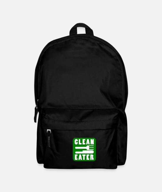 Herbs Bags & Backpacks - Clean Eater - Organic, regional diet - Backpack black