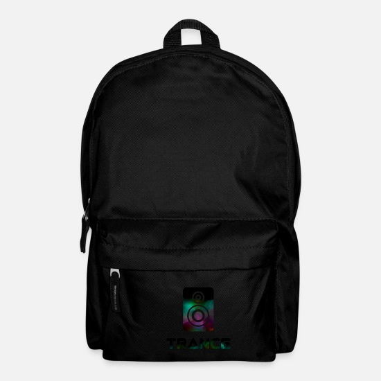 Raver Bags & Backpacks - trance - Backpack black