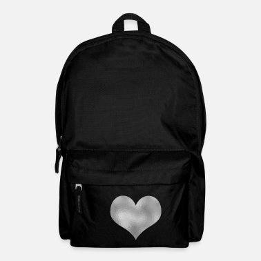 Silver Heart silver - Backpack