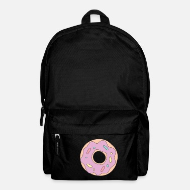 Frost pink frosted doughnut - Backpack
