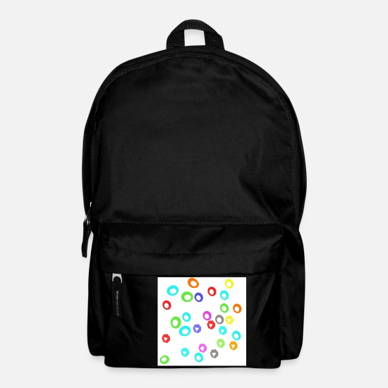 Gay Pride Bags & Backpacks - Candies - Backpack black