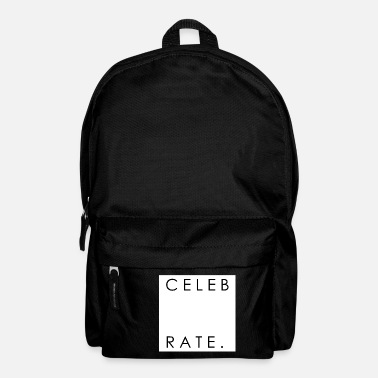 Celebrate Celebrate - Backpack