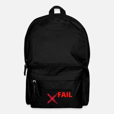social distancing FAIL - Backpack