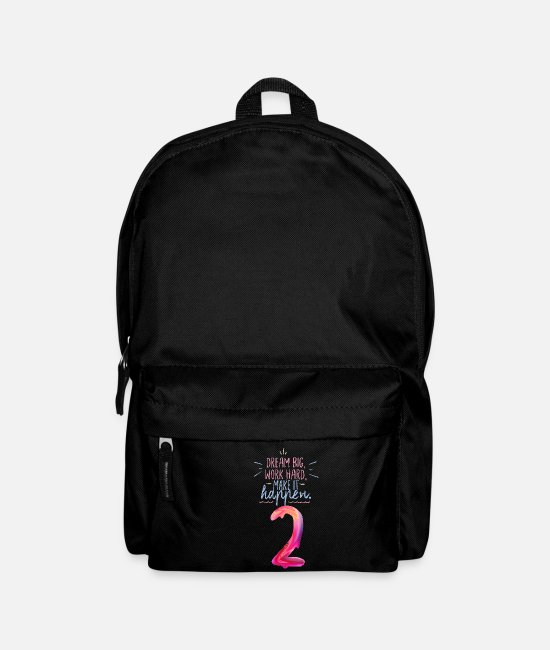 Heart Bags & Backpacks - DREAM BIG - Backpack black