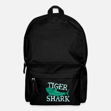 Mor Fish Tiger Shark Danger Diver Gift - Rygsæk