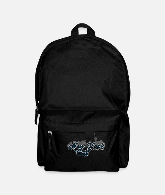 New York City Bags & Backpacks - New York City Vintage - Backpack black