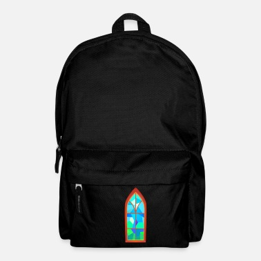 Church church window church window - Backpack