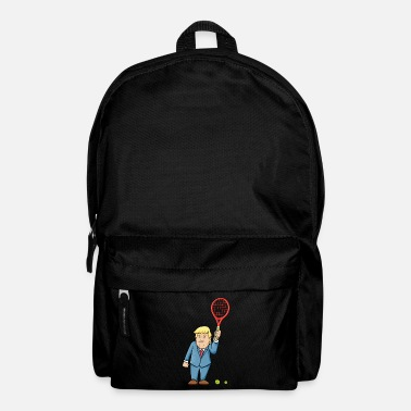 Funny funny funny tennis trump - Backpack