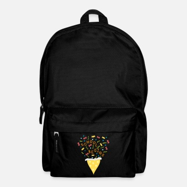 School Beginner School beginner, pre school, school, school cone - Backpack