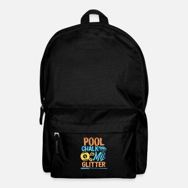 Chalk Billiard chalk - Backpack