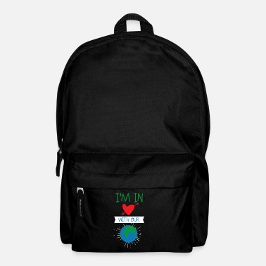 Teacher Earth Day Climate Change Environmental Protection Earthly Love - Backpack