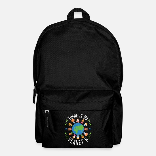 Eco Bags & Backpacks - There Is No Planet B Save The Earth Day Gift - Backpack black