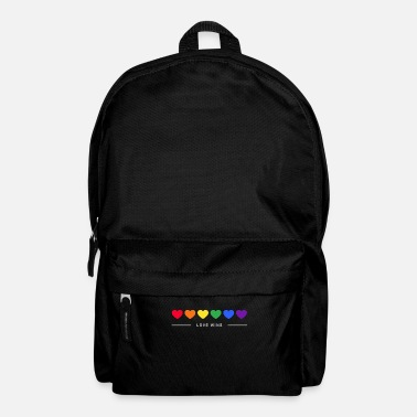 Gay Pride Regenbogen, LGBT, Rainbow, Gay Pride, Queer, Love - Backpack