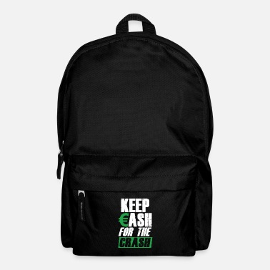 Wealth Keep Cash Money Investor Stock Market Crash Forex - Backpack
