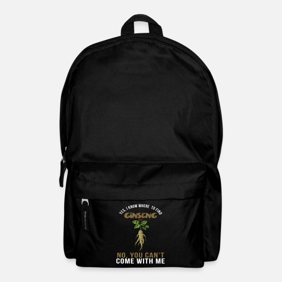 Gift Idea Bags & Backpacks - Ginseng Collector Gunny Gilgen Collector Gift - Backpack black