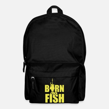 Gancio born to fish (pesca, b, 1c) - Zaino
